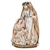 Betlém Juta, Josef a Marie, 12x17x27 cm, polyresin