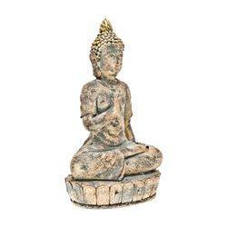 Budha meditující, 18x27x55 cm, keramika