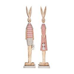 Paní Zajícová, 10x7x50 cm, dřevo