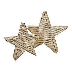 Lucerna Hvězda, 37x10x35 cm, kov