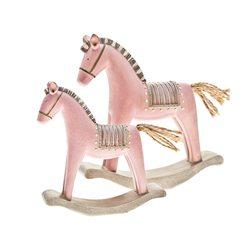 Houpací kůň Roselo, malý, 13x3x13 cm, polyresin