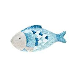 Ryba motiv-šupiny, 10x2.5x22 cm, keramika