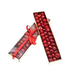 Rolničky v krabičce, 40 ks, červená, 19x4x2 cm, ko