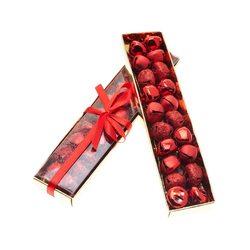 Rolničky v krabičce, 20 ks, červená, 4x19x2 cm, ko