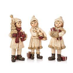 Děti zimy 12 cm, 3 dr., 12 cm