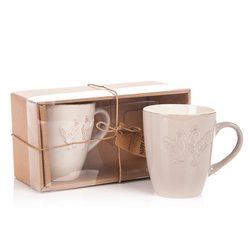 Hrnek Slípka, set 2 ks, 300 ml, 9x5x10 cm, keramik