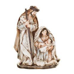 Betlém Juta, Josef a Marie, 9x4x20 cm, polyresin