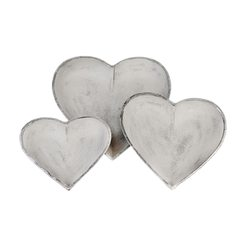 Srdce Raysun, 17x17x3 cm, polyresin
