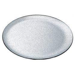 Tác stříbrný, 31x31x5 cm, sklo