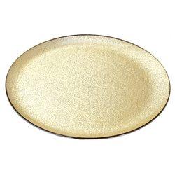 Tác zlatý, 31x31x5 cm, sklo