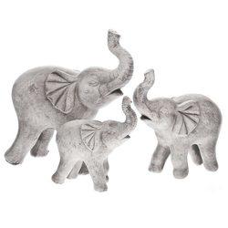Slon tlustý, 9x18x20 cm, polyresin