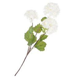 Umělá květina, kalina bílá