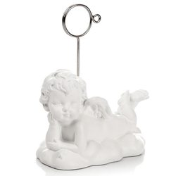 Anděl ležící - s držáčkem, 9.5 cm