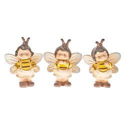 Včelka, více druhů, 3x5x8 cm, polyresin
