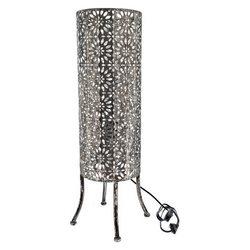 Lampa Metal vysoký válec na nožkách, 20x20x68 cm,