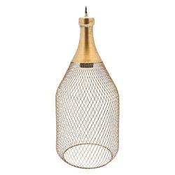 Lampa Metal, 16x16x37 cm, kov