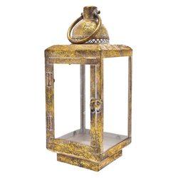 Lucerna Klas hranatá zlatá patina, kov