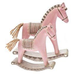 Houpací kůň Roselo, velký, 17x4x18 cm, polyresin