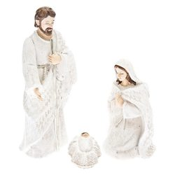 Josef s Marií, volný, 14x7x18 cm, polyresin