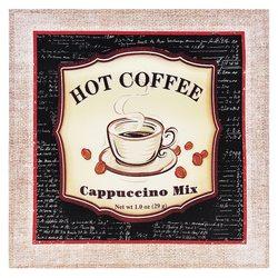 Obrázek Coffee, 2x38x38 cm, textil