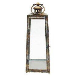 Lucerna Patin, komolý jehlan, 22x22x61 cm, kov, sk