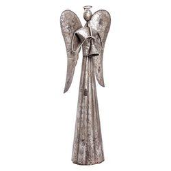 Anděl Patin, 29x14x80 cm, kov