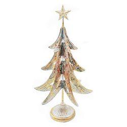Stromek dělený zlatý, 29x26x55 cm, kov
