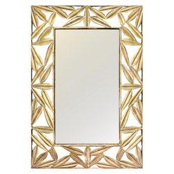Zrcadlo List, 70x5x100 cm, kov, sklo