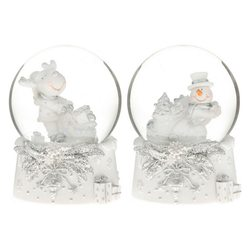 Sněžítko bílostříbrné,sněhulák a sob s dárky, 2dr.