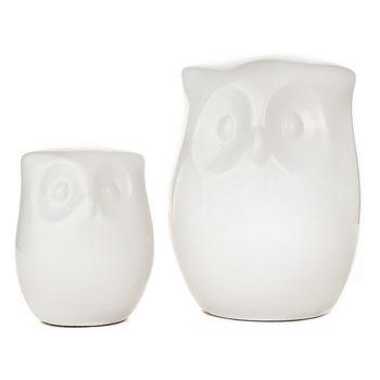 Sova, 8x9x12 cm, keramika