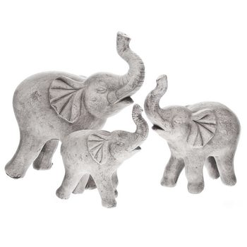 Slon tlustý malý, 15, 7x15x15 cm, keramika jako be