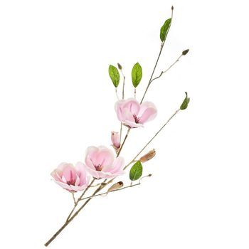 Umělá květina, magnolie růžová