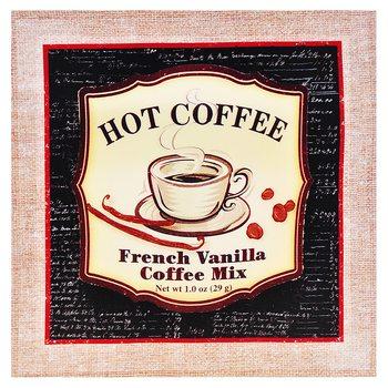 Obrázek Coffee, 2x38x38 cm, plátno, dřevo